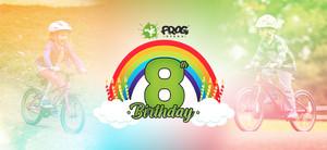 Frog Bikes turns 8!