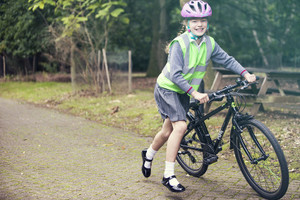 Back to school bike preparation