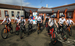 Gearing Up For Cycling in Fife's Schools