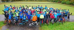 Glasgowriderz proud recipients of 13 Frog Bikes