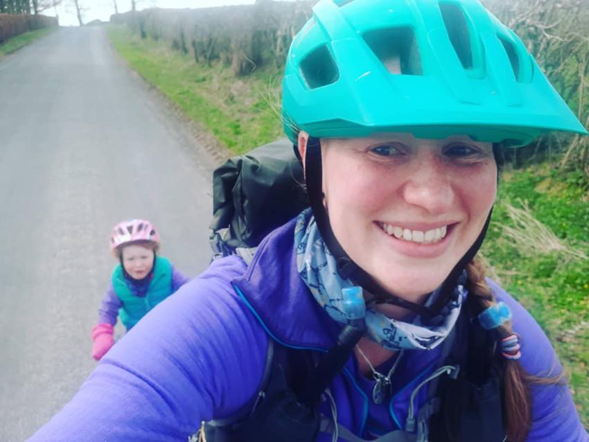 Towing Kids Bikes