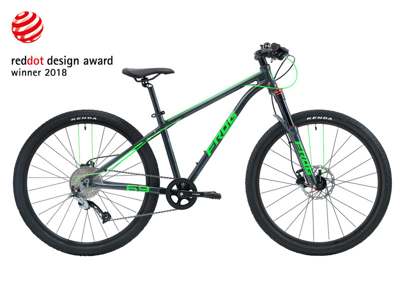 MBR Magazine - Frog MTB 69 Kids Bike Review